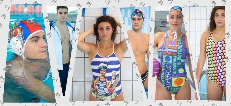 Hand - Swimwear Swimming and Water Polo