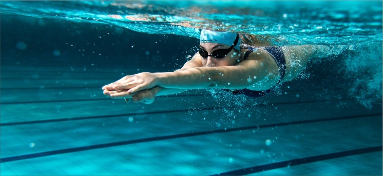 Hand - Woman Swimming and Water Polo